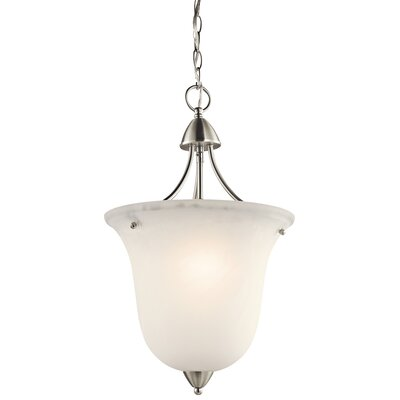 Ledbetter 1-Light Foyer Pendant Finish: Brushed Nickel