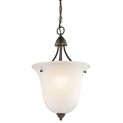 Ledbetter 1-Light Foyer Pendant Finish: Olde Bronze