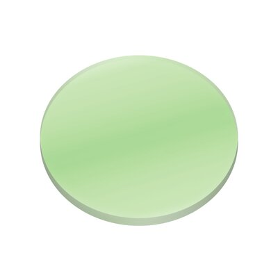 Amber Lense Finish: Green, Size: 0.25 H x 2.5 W x 2.5 D