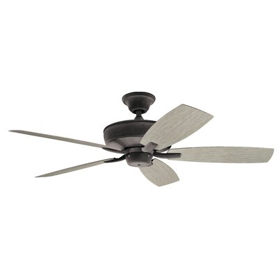 52 Julius Patio 5 Blade Outdoor Ceiling Fan