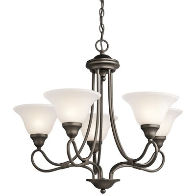 Stafford 5-Light Shaded Chandelier
