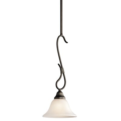 Stafford 1-Light Mini Pendant Finish: Olde Bronze
