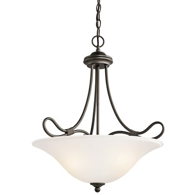 Stafford 3-Light Inverted Pendant Finish: Olde Bronze