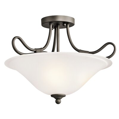 Stafford 14.25 2-Light Semi Flush Mount