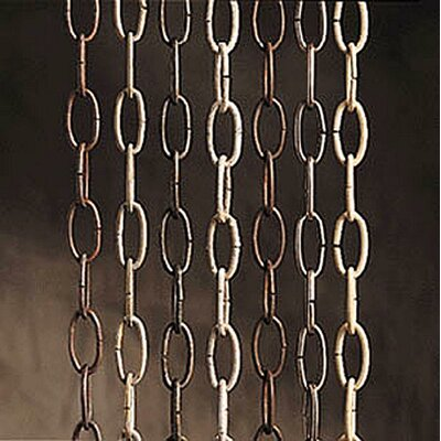 36 Heavy Chain Finish: Tannery Bronze with Gold Accents