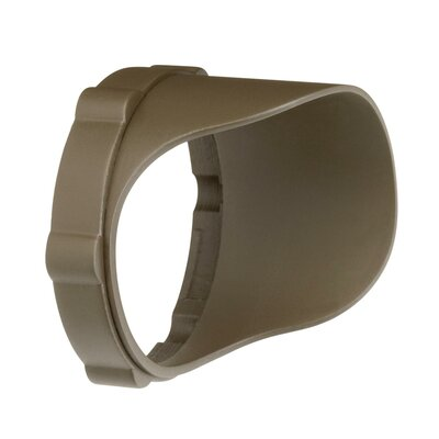 Landscape Snap on Cowl in Textured Arch Bronze Polycarb Size: Short, Finish: Textured Arch Bronze Polycarb