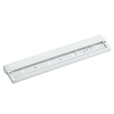 Modular Pro LED Under Cabinet Bar Light Finish: White, Size: 0.5 H x 2.5 W x 18 D, Bulb Type: LED 2700K