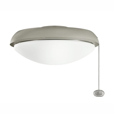 Climates Slim Profile Fixture Finish: Antique Satin Silver