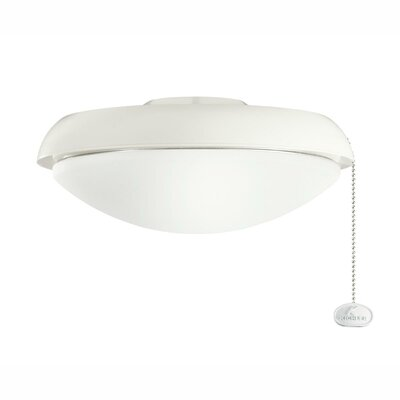 Climates Slim Profile Fixture Finish: Satin Natural White