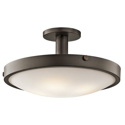 Lytham 4-Light Semi Flush Mount Finish: Bronze