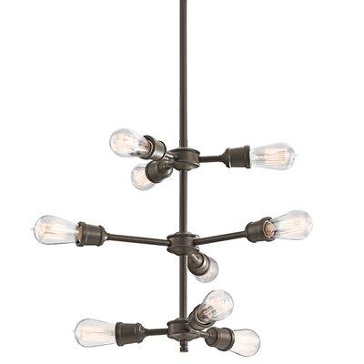 Lucien 9-Light Sputnik Chandelier