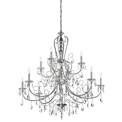 Jules 12-Light Crystal Chandelier