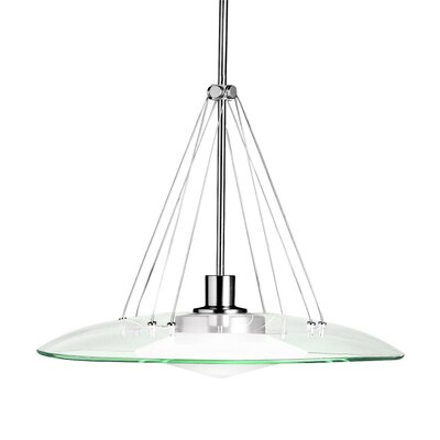 Masontown 1-Light Mini Pendant Finish: Brushed Nickel