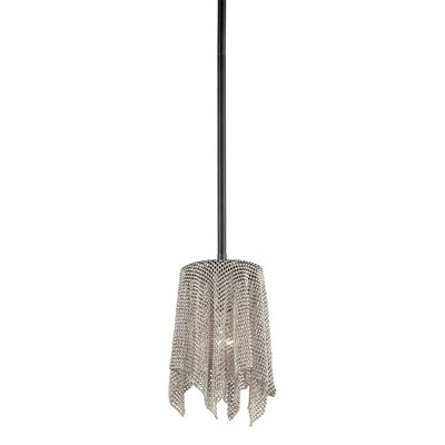 Olde Bronze 1-Light Mini Pendant Finish: Brushed Nickel