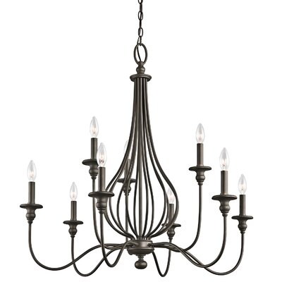 Kensington 9-Light Candle-Style Chandelier