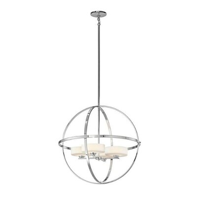 Olsay 4-Light Globe Pendant Finish: Chrome