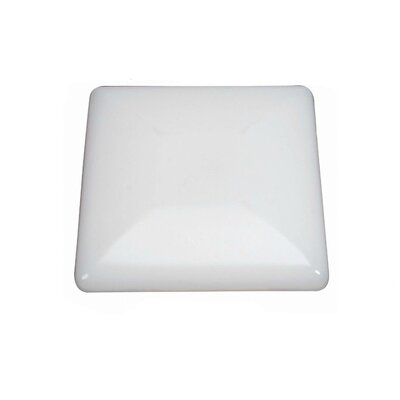 Square Flush Mount Size: 4 H x 19.125 W