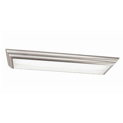 Kichler Lighting Group 4 Light Chella Linear Flush Mount - Finish: Silver Various