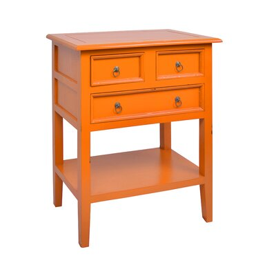 Newton End Table Finish: Antique Orange