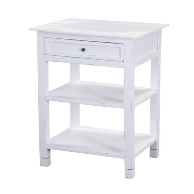 Newton End Table Finish: White