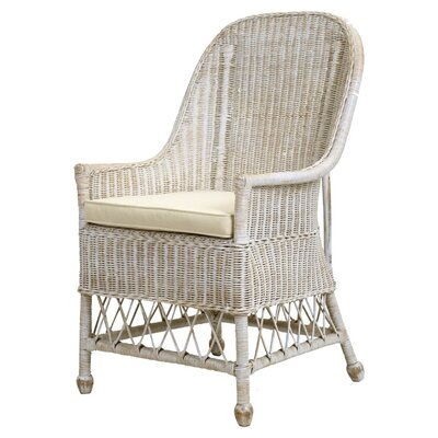 Diana Rattan Arm Chair