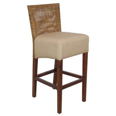 Rent to own Karyn Barstool in Medium Antique Br...