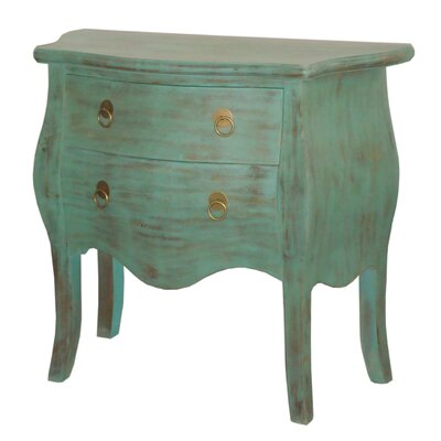 Cheap Jeffan Ronald Console Table in Rubbed Blue (JFN1223)