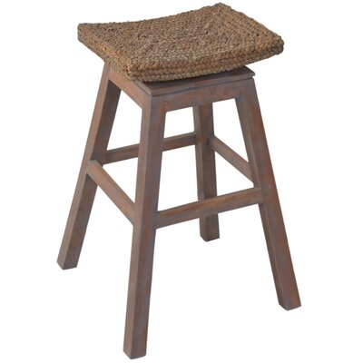 Sanibel 30 Swivel Bar Stool Finish: Grey Wash