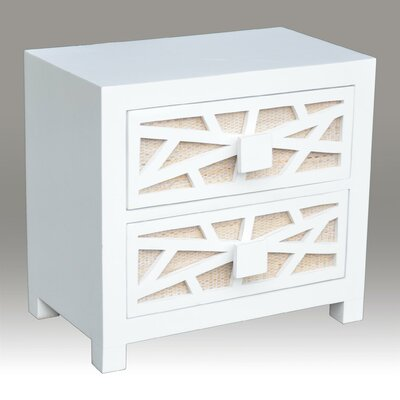 Gosney 2 Drawer Nightstand