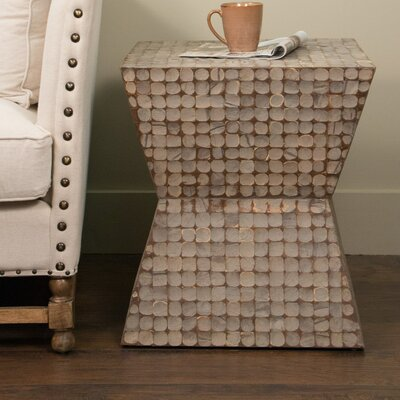 Sherlyn Trapeze End Table