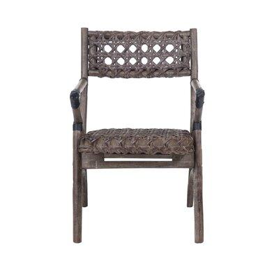 Sahara Armchair Upholstery: Grey