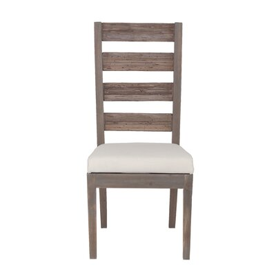 FT Davis Side Chair Upholstery: Gray