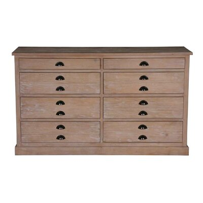 Boston 8 Drawer Media Chest