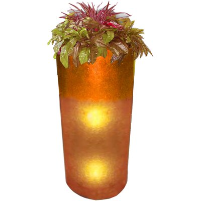 Orange Glass Lamp | Wayfair