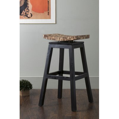 Cordova 30 Swivel Bar Stool Finish: Natural Bliss