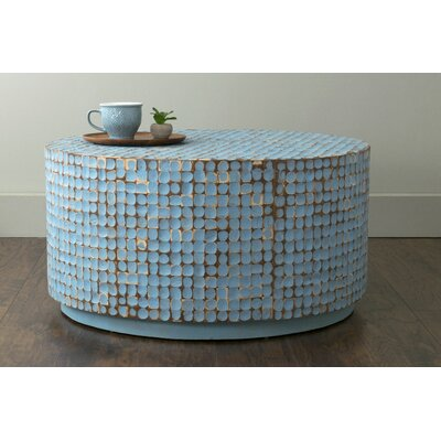 Cassia Coffee Table in Blue