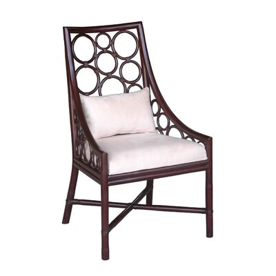 Roman Side Chair Finish: Wenge
