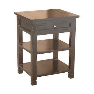 Newton End Table Color: Dark  Brown