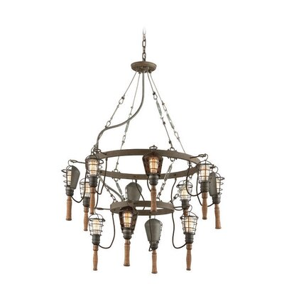 Catalan 12-Light Foyer Pendant