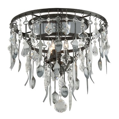 Bistro 4-Light Flush Mount