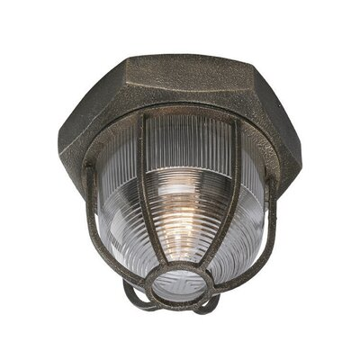 Shamit 1-Light Flush Mount Size: Small
