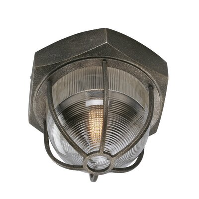Shamit 1-Light Flush Mount Size: Large