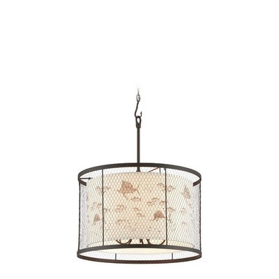 Villasenor 5-Light Drum Pendant