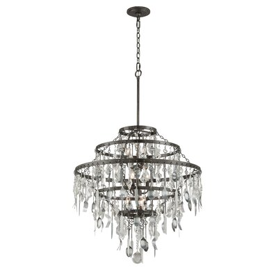 Bistro 9-Light Crystal Chandelier