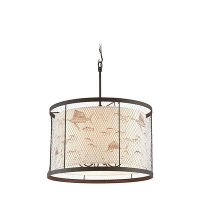 Villasenor 6-Light Drum Pendant