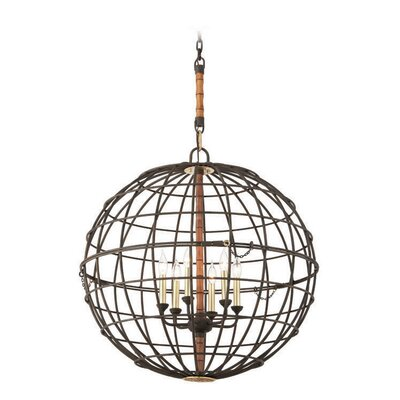 Lattitude 6-Light Globe Pendant