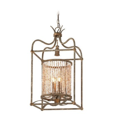 Madame Bardot 4-Light Foyer Pendant