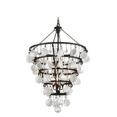 Desarae 12-Light Crystal Chandelier