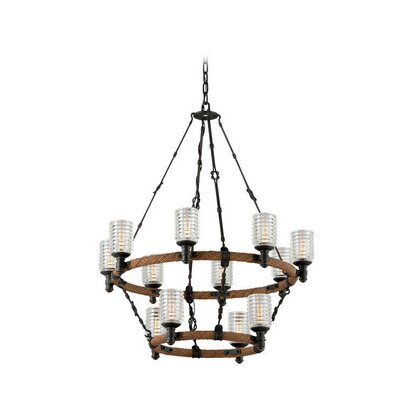 Karsten 12-Light Kitchen Island Pendant
