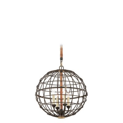 Latitude 4-Light Globe Pendant